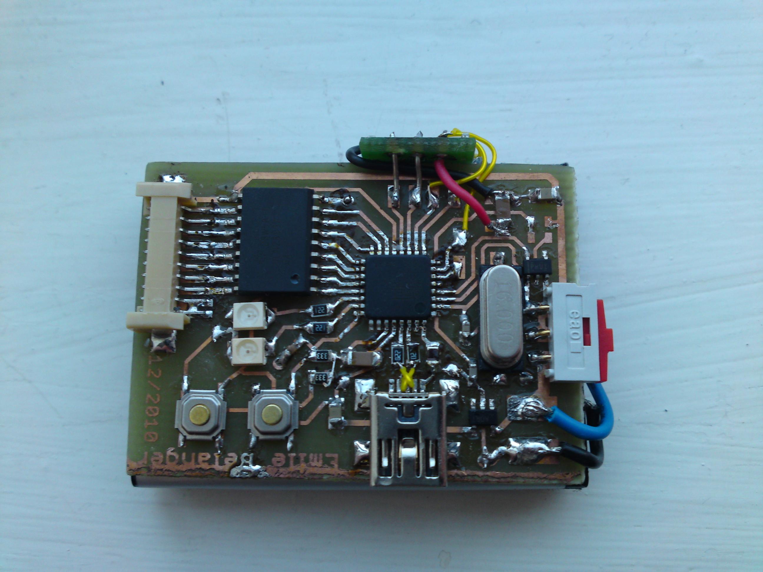 Compass Belt board soldered