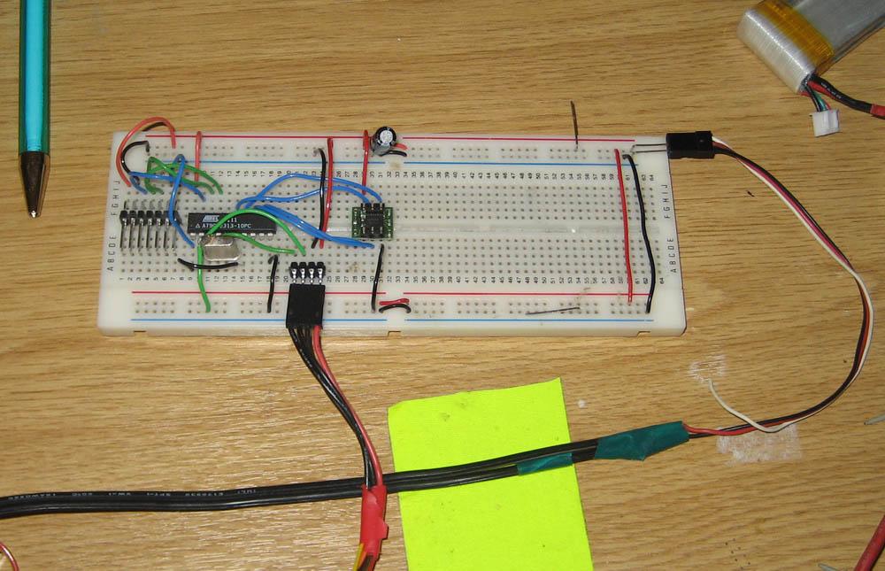 HM55B test board