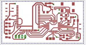 Jennic USB layout
