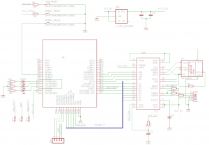 Jennic USB schematic